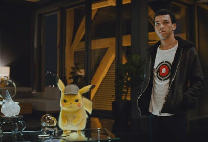"A scene from ""Pokemon Detective Pikachu"", 2019"