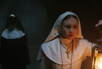 "A scene from ""The Nun"""