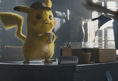 "A scene from ""Pokemon: Detective Pikachu"", 2019"