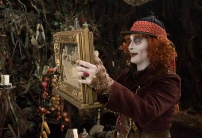 Johnny Depp in a scene of Alice Through the Looking Glass