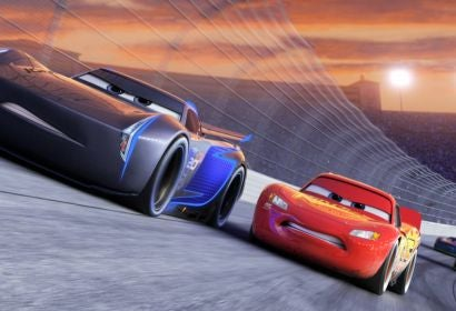 A scene from Cars3