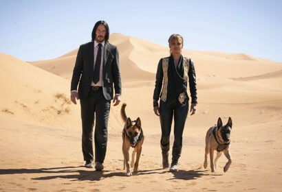 "A scene from ""John Wick 3, Parabellum"", 2019"