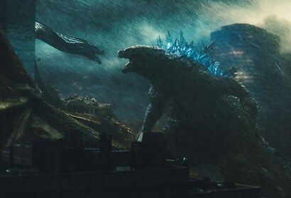 """A scene from """"Godzilla, King of the Monsters"""" 2019"""
