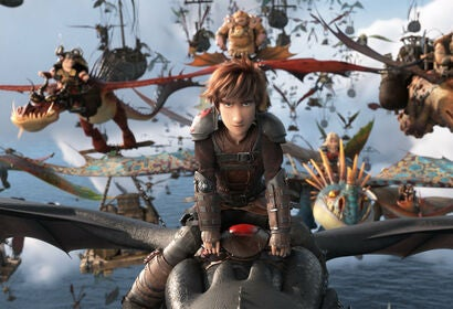 """A scene from """"How to Train Your Dragon:Hidden World"""", 2019"""