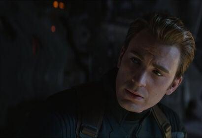 """Chris Evans in a scene from """"Avengers:Endgame"""", 2019"""