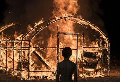 "Scene from ""Burning"""