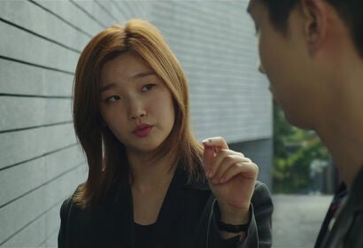 "Woo-sik Choi and So-dam Park in ""Parasite"" (2019)"
