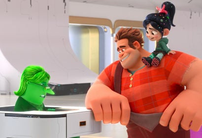 "A scene from ""Ralph Breaks the Internet, 2018"