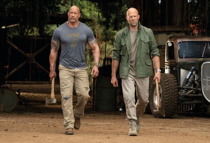 "A scene from ""Fast and Furious Presents: Hoobs & Shaw"", 2019"