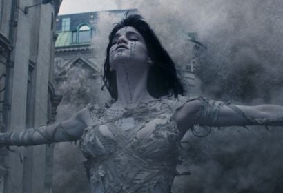 "Actress and dancer Sofia Boutella in a scene from ""The Mummy"""