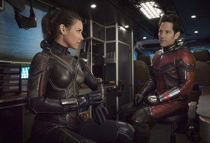 "A scene from ""Ant Man and The Wasp"""