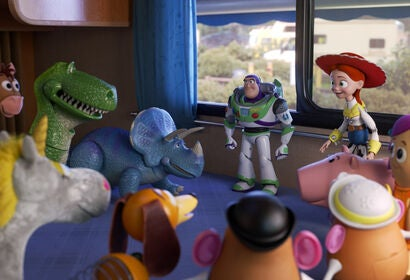 """A scene from """"Toy Story 4"""", 2019"""