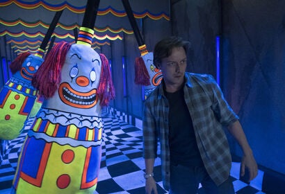 "A scene from ""It Chapter 2"", 2019"