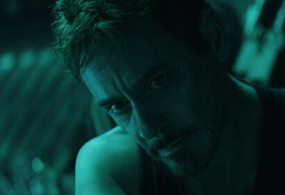 "Robert Downey Jr. in a scene from ""Avengers:Endgame"", 2019"
