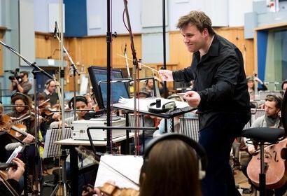 Composer Benjamin Wallfisch