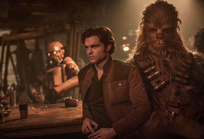 "A scene from ""Solo, a Star Wars Story"""