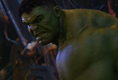 "Mark Ruffalo as the Hulk in Avengers:"" Infinity War"