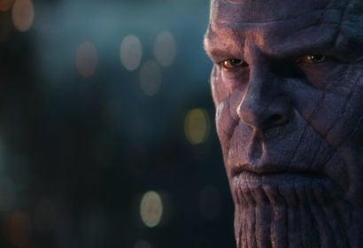 Josh Brolin in a scene from Avengers: Infinity War