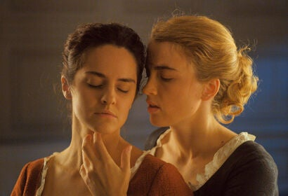 """Adèle Haenel and Noémie Merlant in """"Portrait of a Lady on Fire"""" (2019)"""