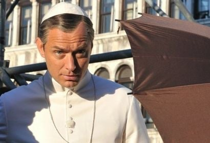 Jude Law in The Young Pope