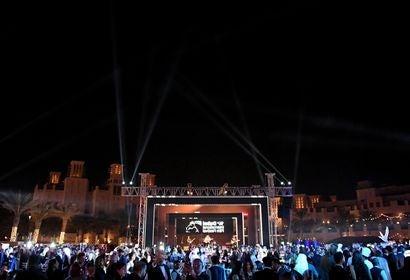 Opening night at the Dubai Fim Festival 2017