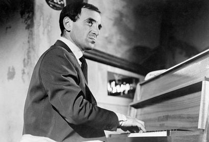 "Charles Aznavour in a scene from ""Shoot the Piano Player"""