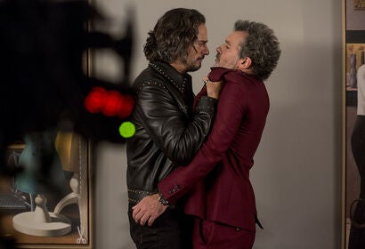 "Antonio Banderas and Asier Etxeandia in ""Pain & Glory"" (2019)"