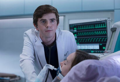 "A scene from the TV show ""The Good Doctor"""