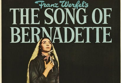 Song of Bernadette movie poster