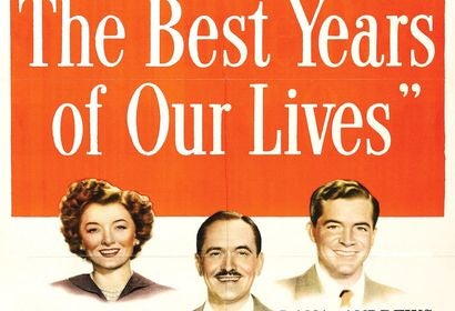Poster from the Golden Globe winning film The Best Years of Our LIves