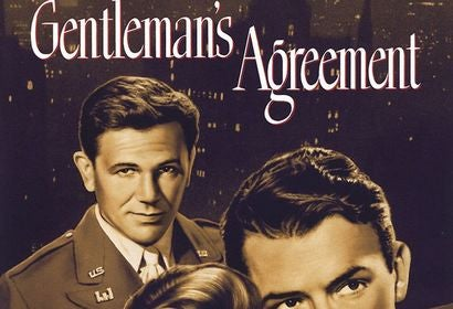 "Poster for the Golden Globe winning film ""Gentleman's Agreement"""