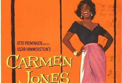 Carmen Jones movie poster