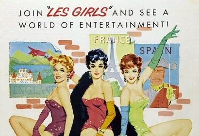 Les Girls movie poster