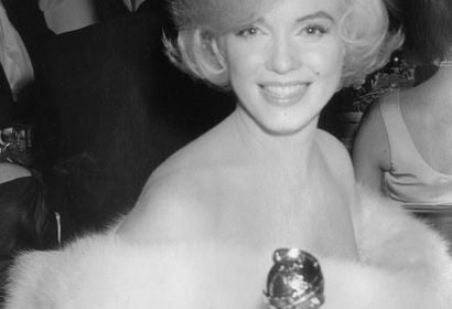 Marilyn Monre at the Golden Globes, 1960