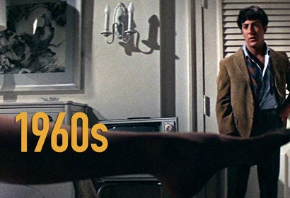 """Scene from """"The Graduate"""" - 1960s"""