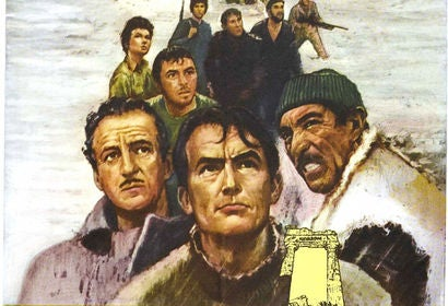 The Guns of Navarone movie poster