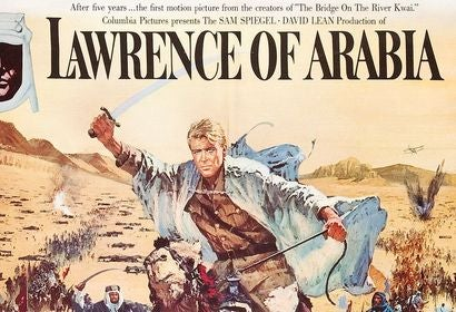 Lawrence of Arabia movie poster