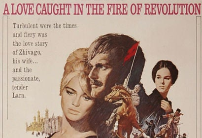 Doctor Zhivago movie poster