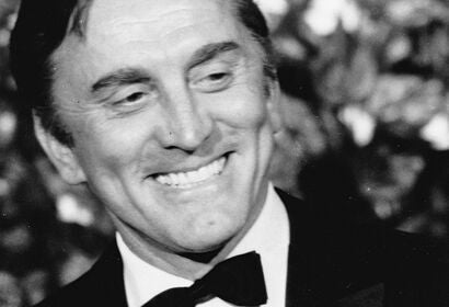 Actor and producer Kirk Douglas, Goldem Globe winner and Cecil B. deMille Award recipient