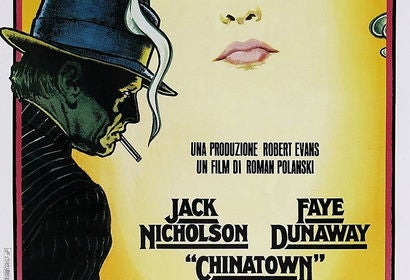 Chinatown movie poster