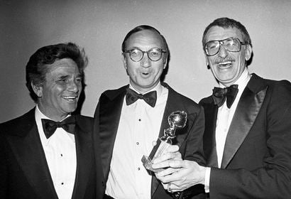 Neil Simon, Peter Falk and Herbert Ross, Golden Globes 1978