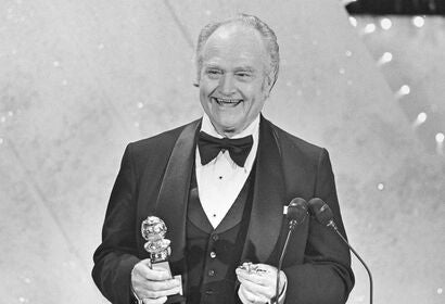 Actor and comedian Red Skelton, Golden Globe nominee and Cecil B. deMille award recipient