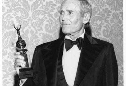 Actor Henry Fodna, Golden Globe winner and Cecil B.deMille recipient
