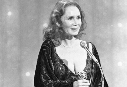 Actress and director Katherine Helmond. Golden Globe winner