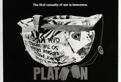 Platoon movie poster