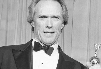 Acir and director Clint Eastwood, Golden Globe winner and Cecil. B. deMille award recipient