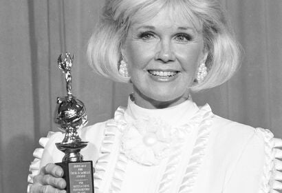 Doris Day, Golden Globe winner and Cecil B. deMille recipient