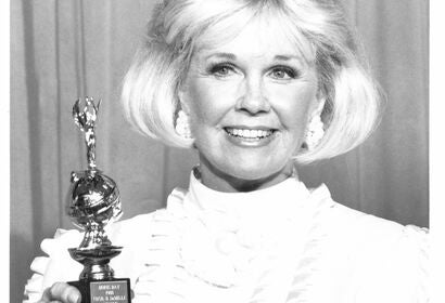 Doris Day, World Favoriteewinner and Cecil B. deMille recipient