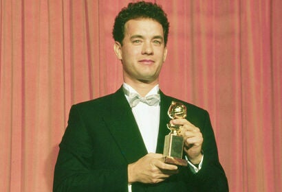 Tom Hanks 1989 Best Actor Comedy Golden Globe winner