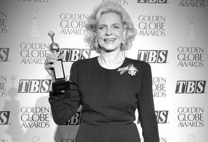Actress Lauren Bacall, Golden Globe winner and Cecil B. deMille award recipient